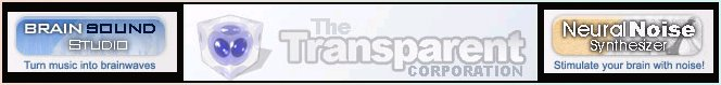 Transparent Corporation banner